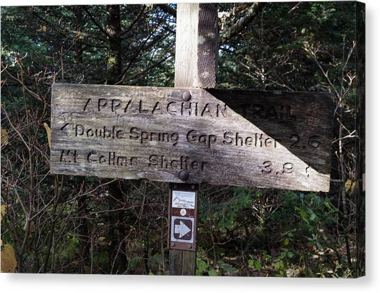 Appalachian Sign Canvas Print