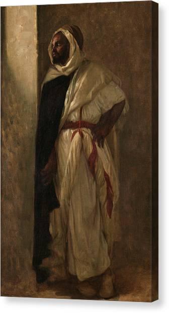 Emir Canvas Print - Arab, 1880 by Alexandre Cabanel
