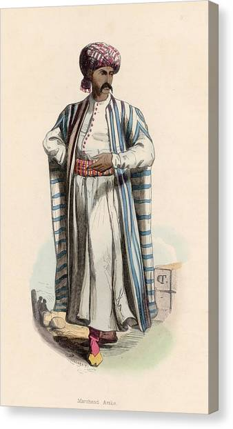 Arab Merchant Canvas Print by Hulton Archive
