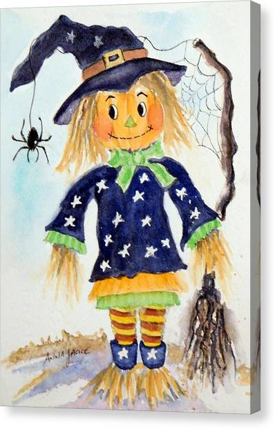 Arachnid Angelica Canvas Print