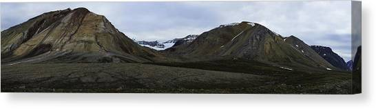 Arctic Mountain Landscape Canvas Print