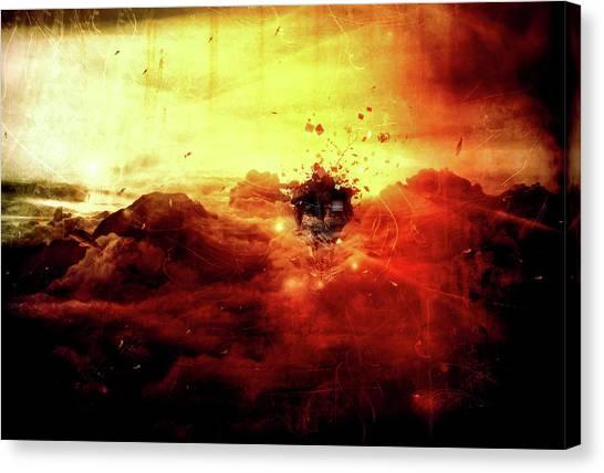 Vertigo Canvas Print - Are You There by Mario Sanchez Nevado