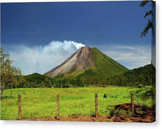 Arenal Volcano - Costa Rica Canvas Print
