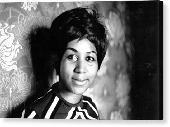 Aretha Franklin by Express Newspapers