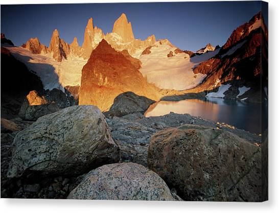 Art In America Canvas Print - Argentina, Lso Glaciares National Park by Art Wolfe