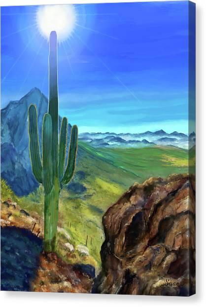Arizona Heat Canvas Print
