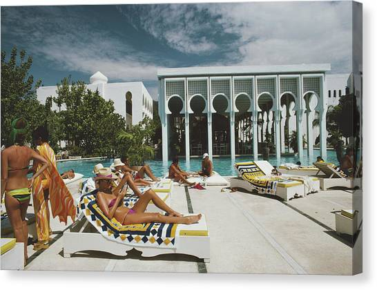 Armandos Beach Club Canvas Print