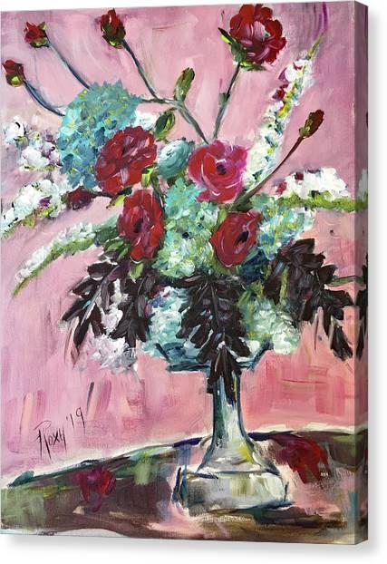 Farmhouse Canvas Print - Arrange Happiness by Roxy Rich