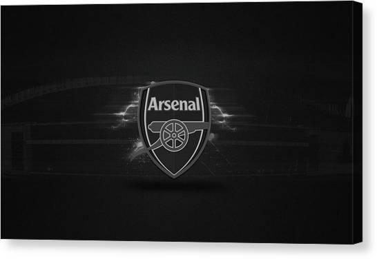 Arsenal Fc Canvas Print - Arsenal by Reka Michael