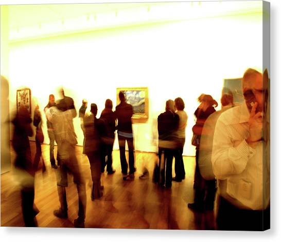 Art Gallery, Van Gogh Canvas Print