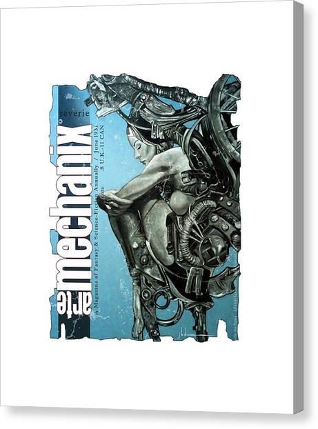 arteMECHANIX 1931 REVERIE  GRUNGE Canvas Print
