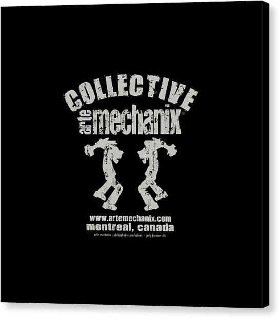 arteMECHANIX COLLECTIVE GRUNGE Canvas Print