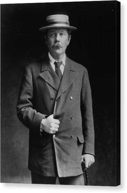 Arthur Conan Doyle Canvas Print by London Stereoscopic Company