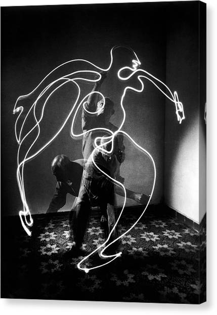 Artist Pablo Picasso Painting With Canvas Print