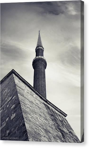 At Mosque-point Canvas Print