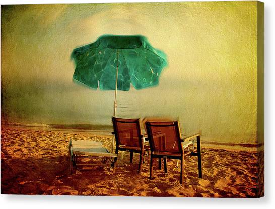 Canvas Print featuring the photograph At The End Of The Day by Milena Ilieva