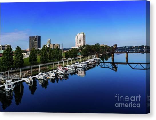 Augusta Ga Savannah River 2 Canvas Print