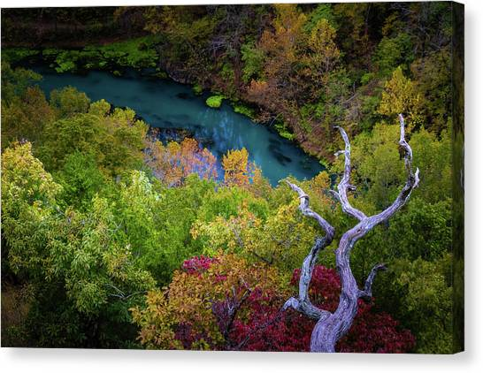 Autumn At Ha Ha Tonka State Park Canvas Print