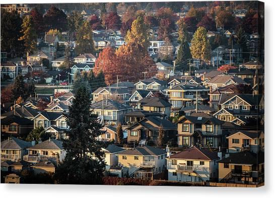 Autumn At Home Canvas Print