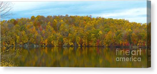 Autumn At Prettyboy Canvas Print