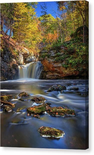 Autumn Day At Doane's Falls Canvas Print