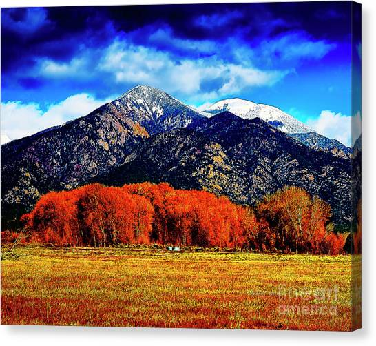 Autumn In Taos New Mexico Canvas Print