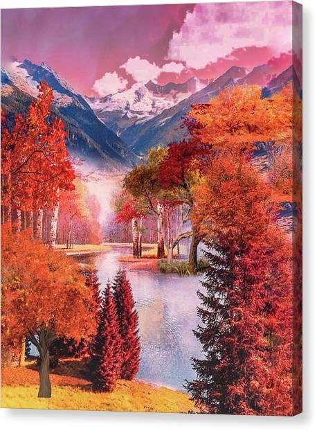 Autumn Landscape 1 Canvas Print