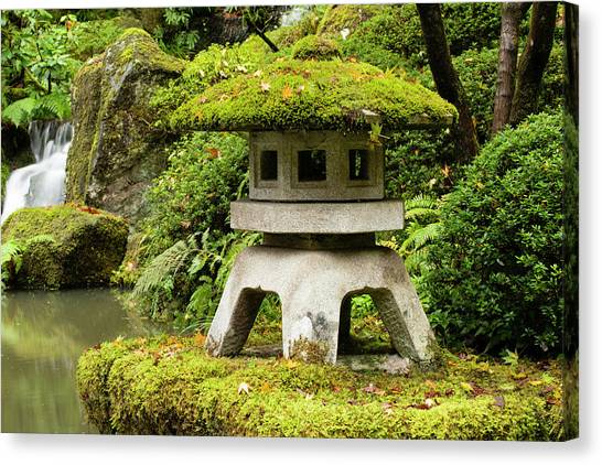 Canvas Print - Autumn, Pagoda, Japanese Garden by Panoramic Images