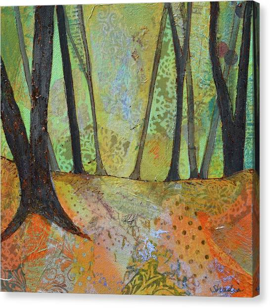 Barren Canvas Print - Autumn's Arrival I by Shadia Derbyshire