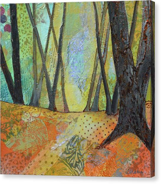 Barren Canvas Print - Autumn's Arrival II by Shadia Derbyshire