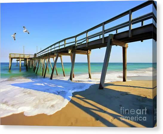 Avalon Pier Canvas Print
