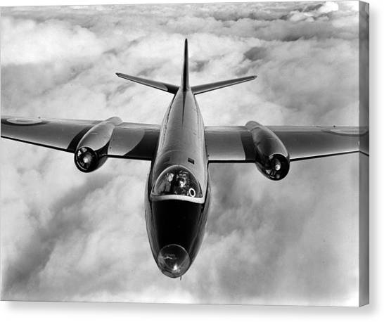 Canberra Canvas Print - Aviation. Military Aircraft. 1951. An by Popperfoto