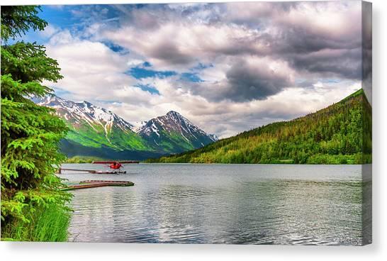 Awe The Draw Of Alaska Canvas Print