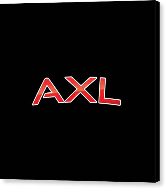 Canvas Print - Axl by TintoDesigns
