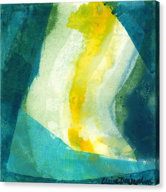 Canvas Print - Back by Claire Desjardins