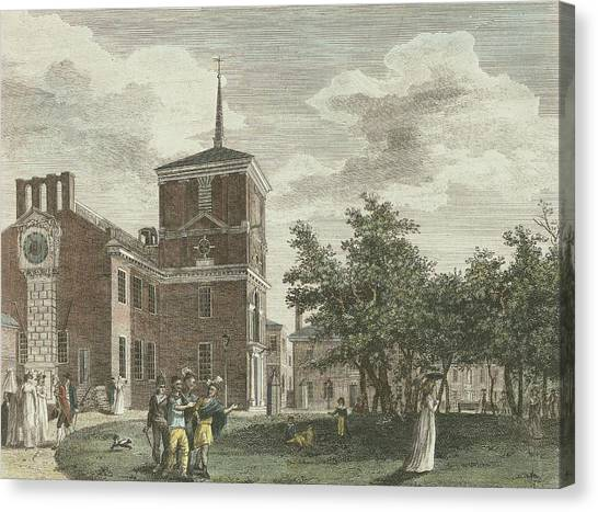 Back Of State House Canvas Print