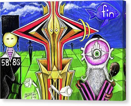 Bacto Reacto Canvas Print