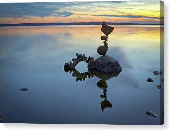 Balancing Art #10 Canvas Print