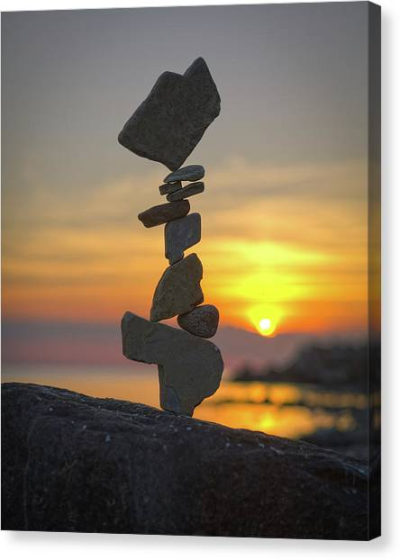 Balancing Art #12 Canvas Print