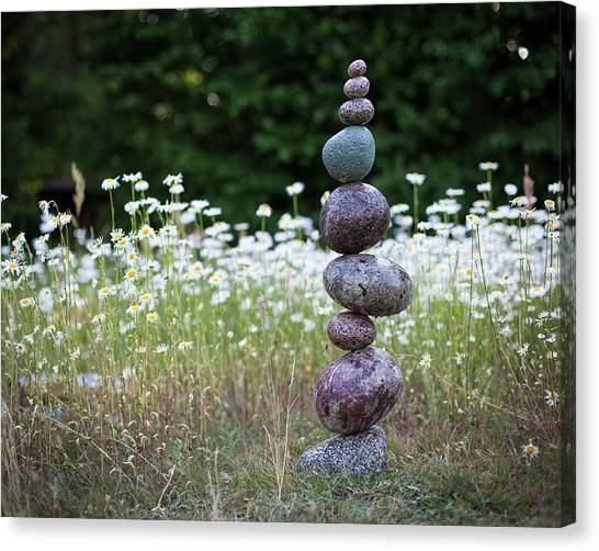 Balancing Art #15 Canvas Print