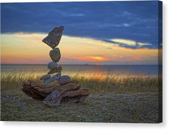 Balancing Art #17 Canvas Print