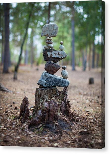 Balancing Art #19 Canvas Print