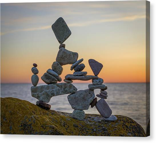 Balancing Art #2 Canvas Print