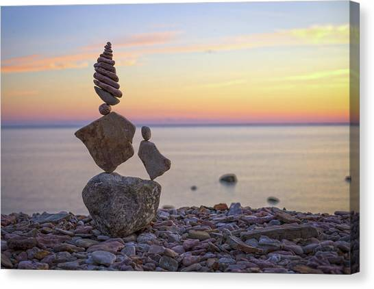 Balancing Art #21 Canvas Print