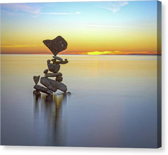 Balancing Art #22 Canvas Print