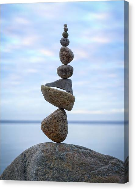 Balancing Art #24 Canvas Print