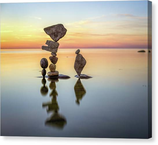 Balancing Art #26 Canvas Print