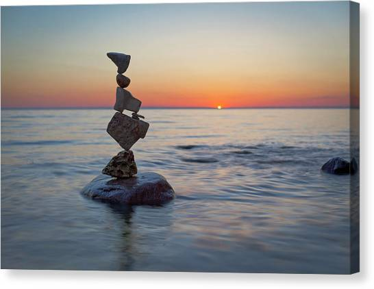 Balancing Art #27 Canvas Print