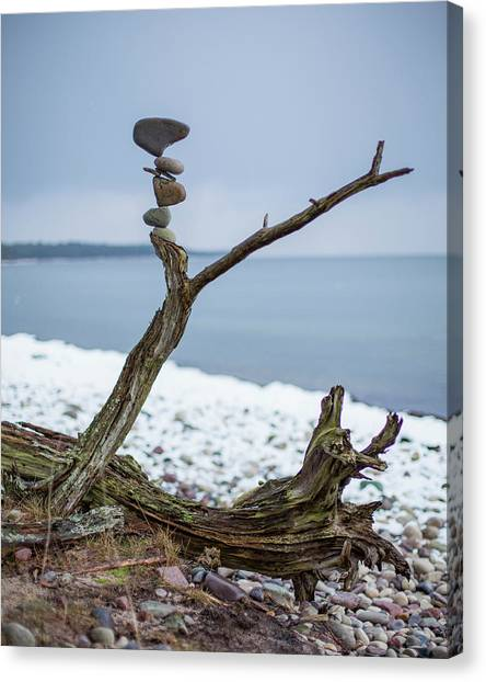 Balancing Art #29 Canvas Print