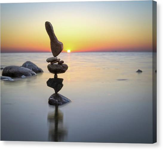 Balancing Art #3 Canvas Print